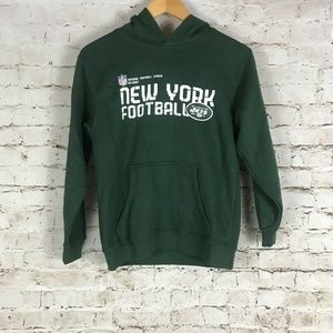 Kid's New York Jets Hoodie Size M Green NFL